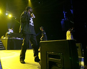 The american rapper Snoop Dogg live at Budapest