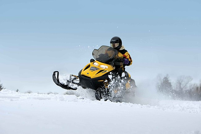 Snowmobiling in New Brunswick, Canada 2010.jpg