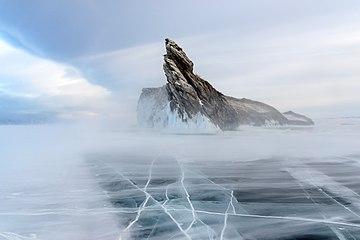 Snowstorm on lake Baikal.jpg