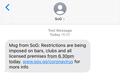 SoG coronavirus message.png