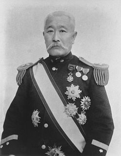 Japanese politician, diplomat, cabinet minister, and second Japanese Resident-General of Korea