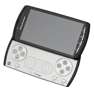 Xperia Play - Xperia PLAY in the open position
