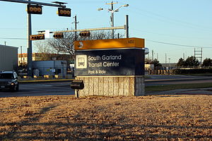 South Garland Transit Center - Image: South Garland Transit Center
