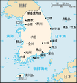 South Korea map-CIA WFB (zh).png