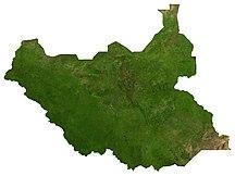 Sudan del Sud-Geografia-South Sudan sat
