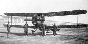 5th Reconnaissance Squadron - DH-4 at Souther Field Georgia 1918