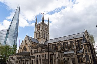 Southwark Cathedral Church in London, England