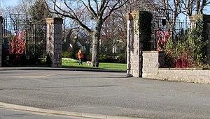Eirias Park - The southwest entrance to Eirias Park