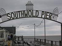 The pier at Southwold, Suffolk, England