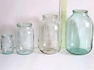 Размеры трехлитровой стеклянной банки - 1