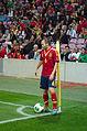 Spain - Chile - 10-09-2013 - Geneva - Andres Iniesta 4.jpg