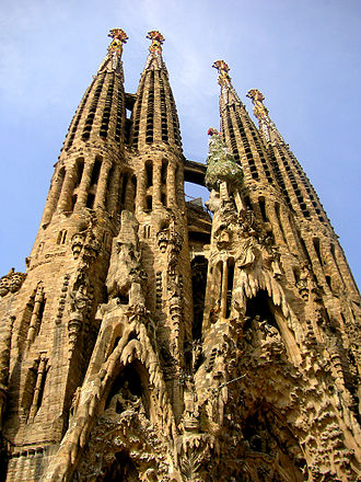 Confidant from the Batlló House - Image: Spain Sagrada Familia