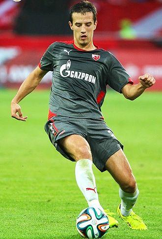 Vukašin Jovanović - Jovanović with Red Star Belgrade in 2014