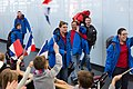 Special Olympics World Winter Games 2017 arrivals Vienna - France 02.jpg