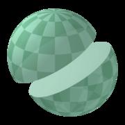 Sphere halve