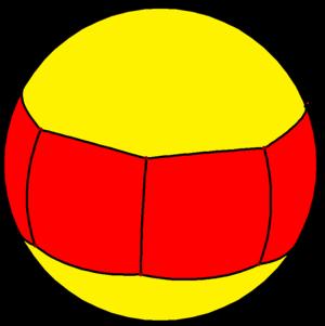 Heptagonal prism - Image: Spherical heptagonal prism