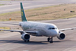Spring Airlines, 9C8527, Airbus A320-214, B-9965, Arrived from Jinjiang, Kansai Airport (16980600267).jpg