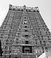 Srirangam Raja Gopuram BW.jpg