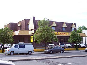 St-Hubert - A St-Hubert restaurant in Montreal, Quebec, Canada.