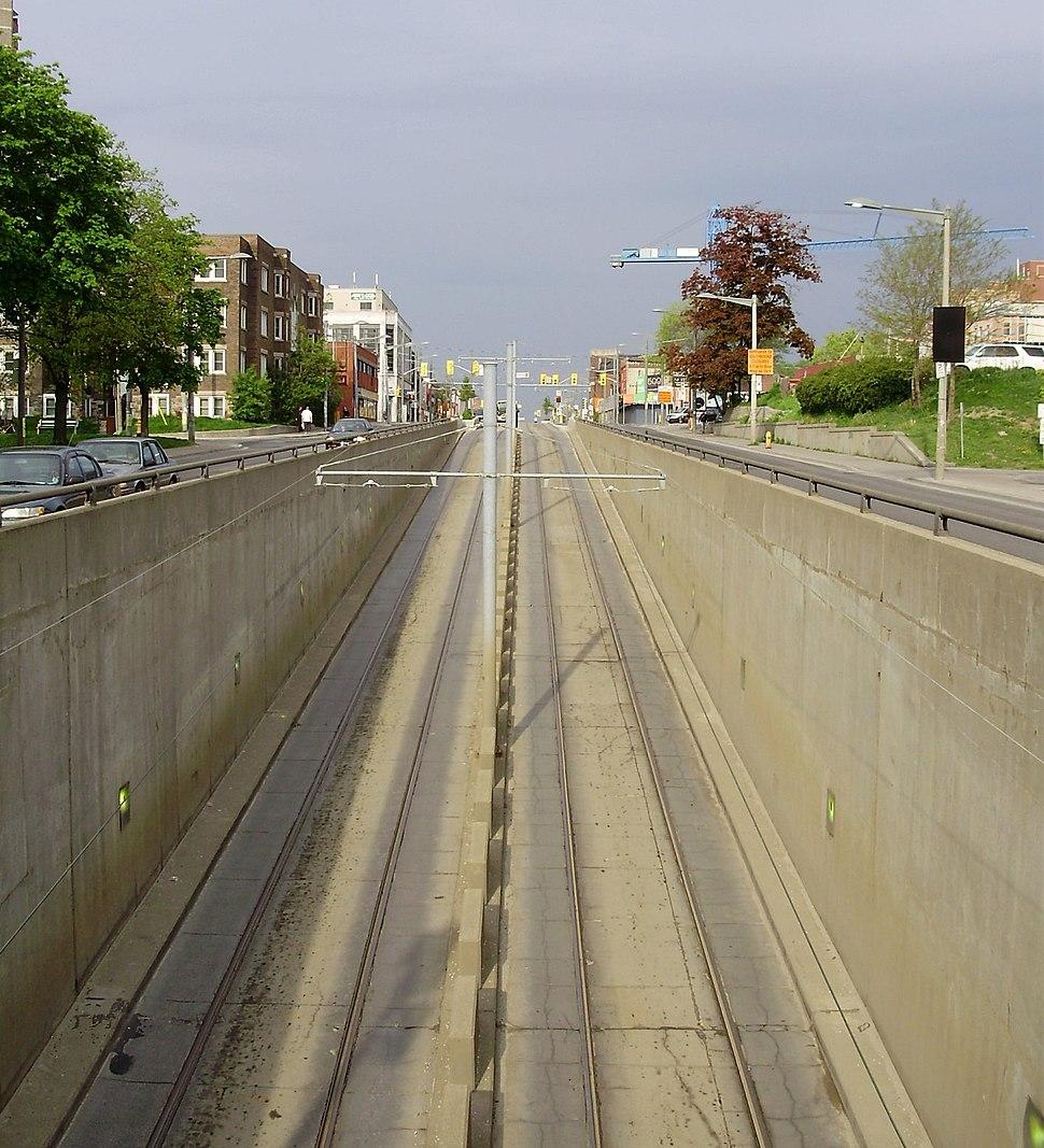 St. Clair Ave Streetcar Access
