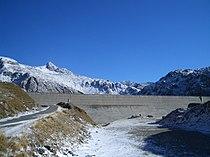 St. Gotthard Lago della Sella dam.jpg