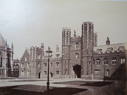 St John's College, Cambridge where Salam studied. St. John's College, Cambridge University.jpg