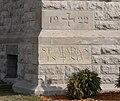 St. Mark's (Hastings, Nebraska) cornerstone.JPG