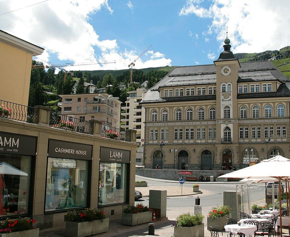 St. Moritz center