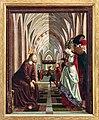 St. Wolfgang kath. Pfarrkirche Pacher-Altar Ehebrecherin 01.jpg