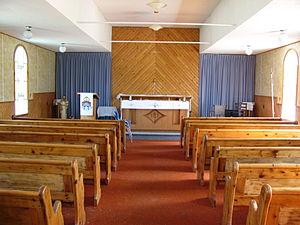 St. Lunaire-Griquet - Image: St Lunaire Eglise 2