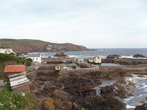 St Abbs Harbour - geograph.org.uk - 1933999