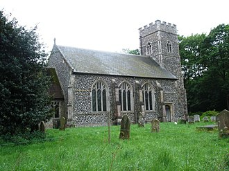 Tostock - St Andrew's Church, Tostock, Suffolk, May 2007