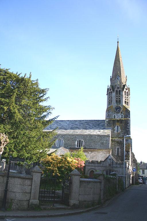 St Bartholomew's Church Lostwithiel Cornwall