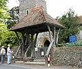 St James the Great, Staple, Kent - Lychgate - geograph.org.uk - 325975.jpg