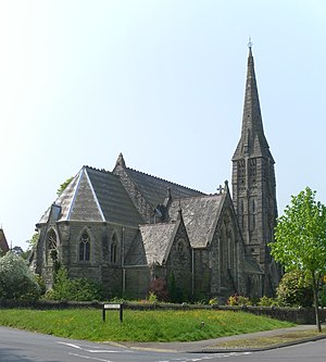 St Mark's Church, Royal Tunbridge Wells - Image: St Mark's Church, Broadwater Down, Tunbridge Wells