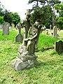 St Martin, Cheriton, Kent - Churchyard - geograph.org.uk - 326038.jpg