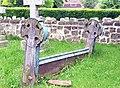 St Peter and St Paul, Saltwood, Kent - Churchyard - geograph.org.uk - 326074.jpg