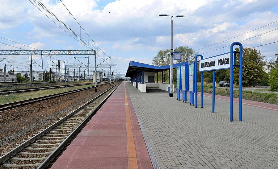Warszawa Praga railway station