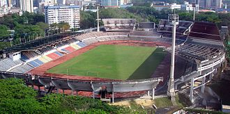 1957 in Malaya - The Merdeka Stadium.