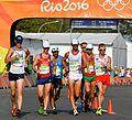 Staff Sgt. John Nunn race walks 50 kilometers at Rio Olympic Games (29094144815).jpg