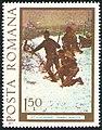 Stamp 1977 - Stefan Luchian - Soldati atacand.jpg