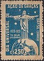 Stamp of Brazil - 1959 - Colnect 264404 - 1 - Christ on globe.jpeg