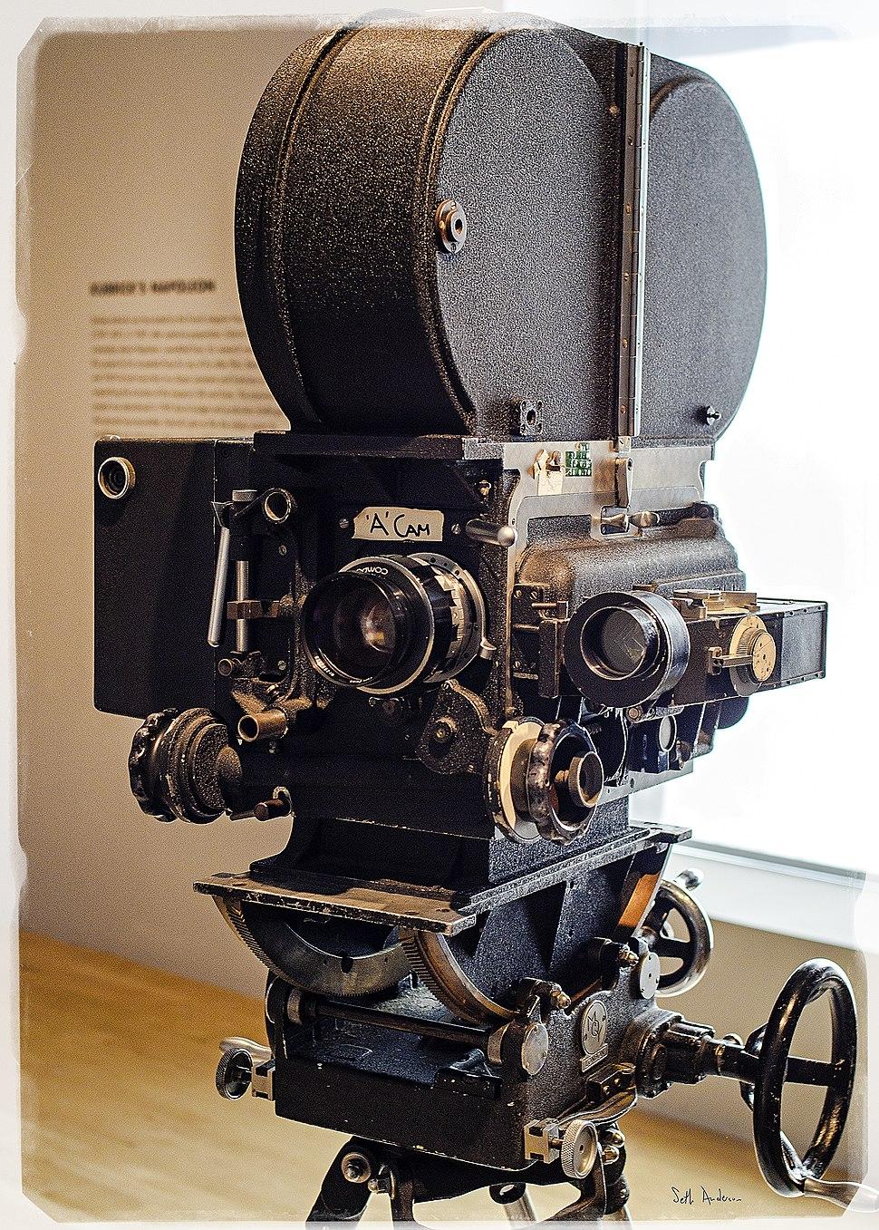 "Stanley Kubrick LACMA exhibit - ""A"" Camera"