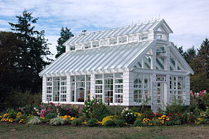 Starling Lane Winery, greenhouse; British Colu...