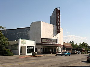 Tehama County, California - Image: State Theater 1946 Red Bluff, CA