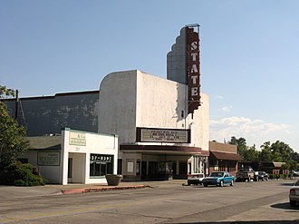 State Theatre (Red Bluff, California) - Image: State Theater 1946 Red Bluff, CA