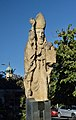 Statue St. Nicholas by Bernt Preisegger, Graz 01.jpg