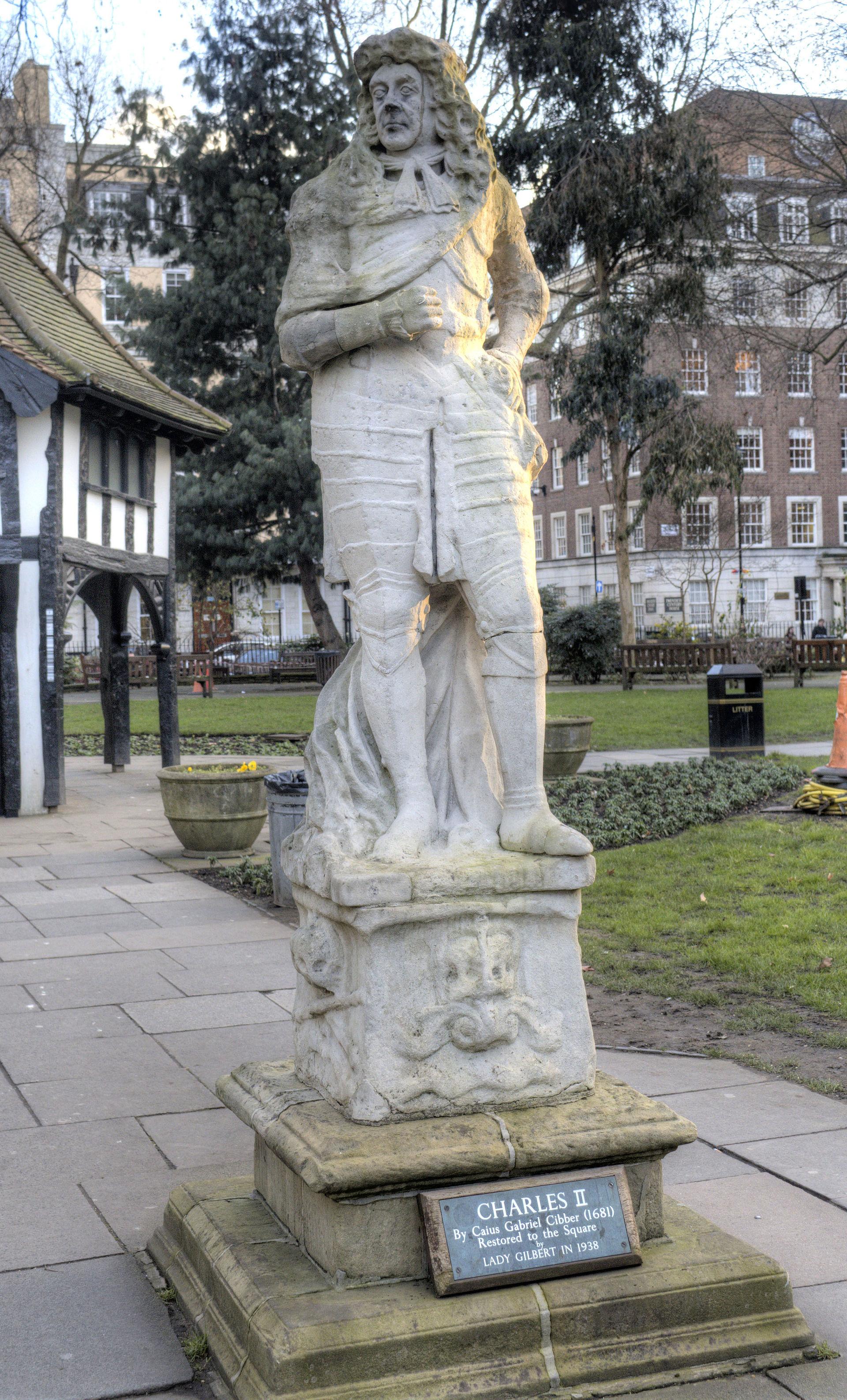 Statue of Charles II, Soho Square - Wikipedia