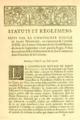 Statuts et reglemens. Faits par la Compagnie royale de Saint Domingue, 25 juin 1716, p.1.png