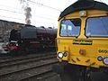 Steam locomotive 6233 Duchess of Sutherland Carlisle Royal Scot 10 Oct 2009 pic 4.jpg